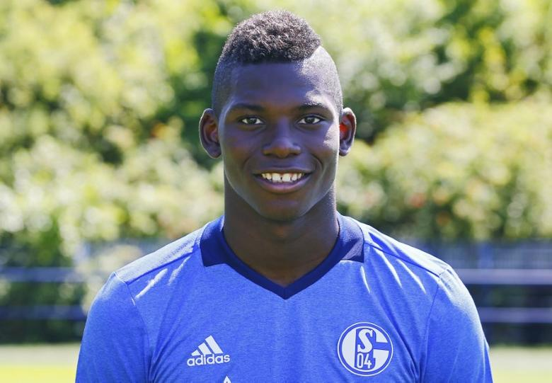 Fooball Soccer - Schalke 04 - German Bundesliga - Veltins Arena  - Gelsenkirchen, Germany - 20/07/16. Shalke 04's player Breel Embolo. REUTERS/Wolfgang Rattay