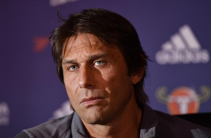 Britain Football Soccer - Chelsea - Antonio Conte Press Conference - Chelsea Training Ground - 14/10/16Chelsea manager Antonio Conte during the press conferenceAction Images via Reuters / Tony O'Brien/ Livepic/Files