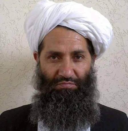 Taliban leader Mullah Haibatullah Akhundzada in an undated photo.  Social Media/File Photo