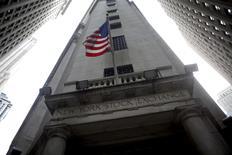 Wall Street a ouvert en ordre dispersé vendredi. Dans les premiers échanges, le Dow Jones gagne 0,21%, le S&P-500 est quasi-stable à -0,07% et le Nasdaq Composite cède 0,25%. /Photo d'archives/REUTERS/Eric Thayer