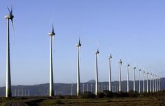 Fotografia de um parque eólico em Osório, no Rio Grande do Sul, sul do Brasil  30/11/2007 REUTERS/Jamil Bittar