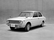 Toyota Motor Corp's first generation model of Corolla car is seen in this undated handout  image and released by Toyota Motor Corporation, obtained by Reuters on November 4, 2016. Toyota Motor Corporation /Handout via Reuters