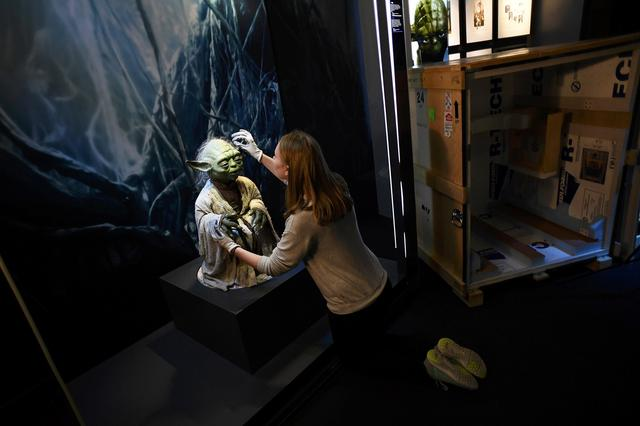 Touring 39 star wars identities 39 exhibition comes to london for Star wars museum san francisco