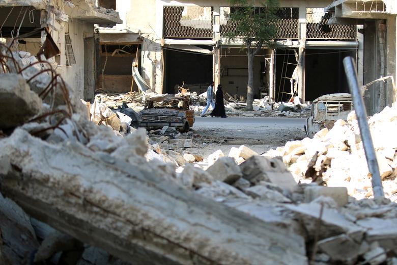 Russia Aleppo