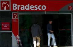 Agência do Bradesco no centro de São Paulo.     18/06/2015        REUTERS/Paulo Whitaker