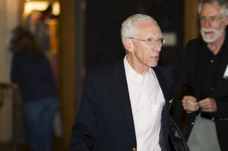 Federal Reserve Vice Chairman Stanley Fischer is seen during the Federal Reserve Bank of Kansas City's annual Jackson Hole Economic Policy Symposium in Jackson Hole, Wyoming, August 29, 2015. REUTERS/Jonathan Crosby