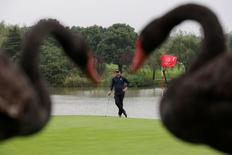 Golf - WGC-HSBC Champions Golf Tournament  - Shanghai, China- 28/10/16 Adam Scott of Australia in action. REUTERS/Aly Song - RTX2QSMO