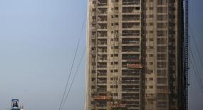 Em foto de arquivo, construção de prédio residencial em São Paulo, Brasil 10/08/2015  REUTERS/Nacho Doce/File Photo