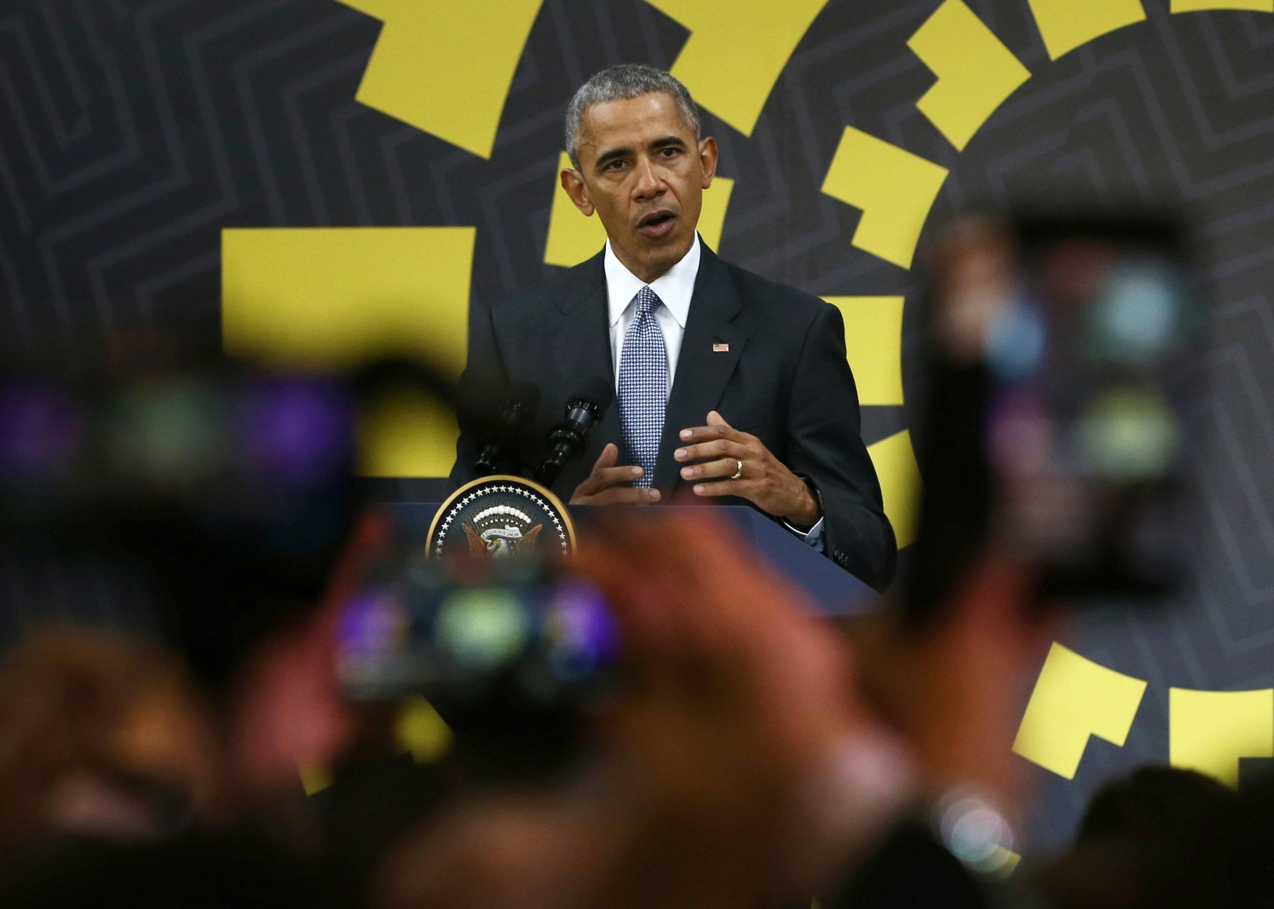 奥巴马表示不担心上次担任民主党美国领导人一段时间
