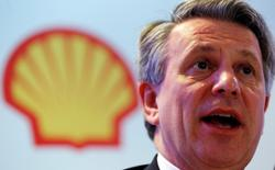 Ben van Beurden, chief executive officer of Royal Dutch Shell, speaks during a news conference in Rio de Janeiro, Brazil, February 15, 2016. REUTERS/Sergio Moraes