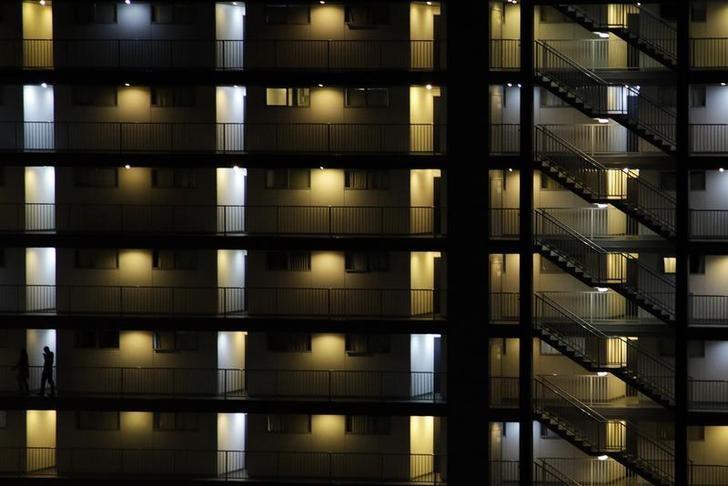 2011年10月19日,新西兰奥克兰的一栋公寓楼。REUTERS/Stefan Wermuth