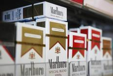 Packs of Marlboro cigarettes are displayed for sale at a convenience store in Somerville, Massachusetts July 17, 2014.   REUTERS/Brian Snyder