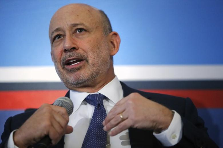 Goldman Sachs Group, Inc. Chairman and Chief Executive Officer Lloyd Blankfein participates in a panel discussion during the White House Summit on Working Families in Washington June 23, 2014. REUTERS/Jonathan Ernst