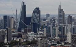 A general view is seen of the London skyline from Canary Wharf in London, Britain, October 19, 2016. REUTERS/Hannah McKay