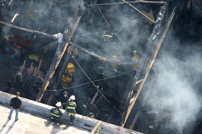 Deadly California warehouse fire