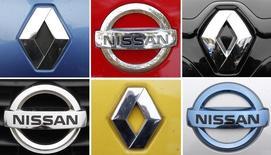 """Renault-Nissan a nommé Philippe Brunet à la tête des moteurs de l'alliance en remplacement d'Alain Raposo, un changement qui prendra effet le 1er janvier prochain. Alain Raposo est quant à lui nommé maître expert (""""powertrain fellow"""") et """"reste partie intégrante d'une équipe forte"""". /Photo d'archives/REUTERS/Vincent Kessler"""