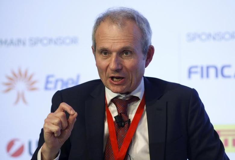 Britain's Minister for Europe David Lidington speaks during the ''Rome 2015 MED, Mediterranean dialogues'' forum in Rome, Italy, December 10, 2015. REUTERS/Remo Casilli