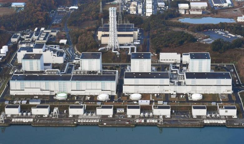 An aerial view shows Tokyo Electric Power Co.'s Fukushima Daini nuclear power plant in Naraha town, Fukushima prefecture, Japan, in this photo taken by Kyodo November 22, 2016. Mandatory credit Kyodo    Kyodo/via REUTERS