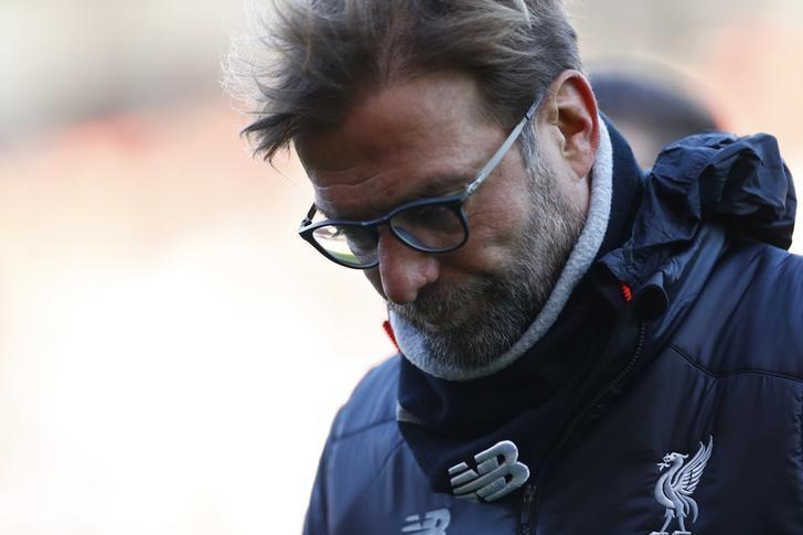 Football Soccer Britain - AFC Bournemouth v Liverpool - Premier League - Vitality Stadium - 4/12/16 Liverpool manager Juergen Klopp looks dejected after the match Reuters / Eddie Keogh Livepic