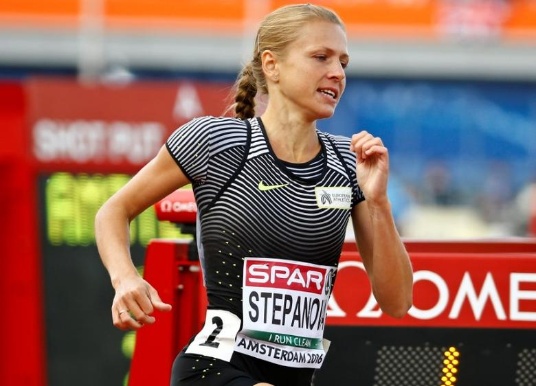 Athletics - European championships - Women's 800m qualifiaction - Amsterdam - 6/7/16 Yulia Stepanova of Russia competes. REUTERS/Michael Kooren/File Photo - RTX2KKBS