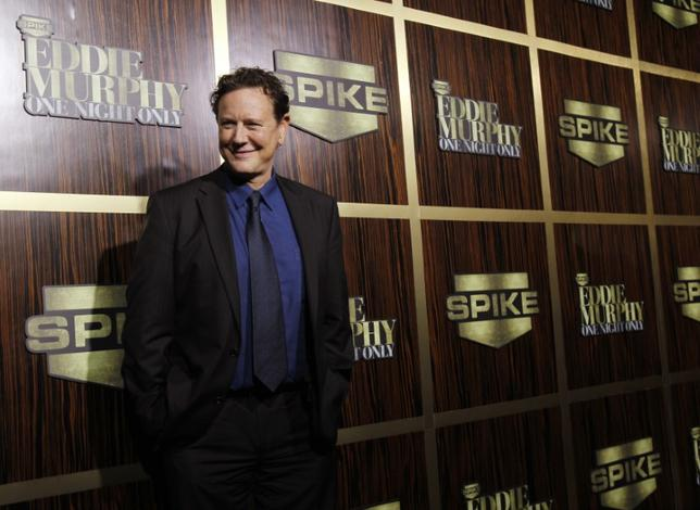 FILE PHOTO - Actor Judge Reinhold poses as he arrives for the taping of the Spike TV special tribute ''Eddie Murphy: One Night Only'' at the Saban theatre in Beverly Hills, California November 3, 2012. REUTERS/Mario Anzuoni