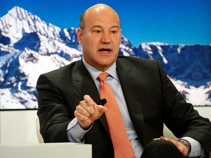 Gary Cohn, President and Chief Operating Officer of Goldman Sachs, speaks at the Ending the Experiment event in the Swiss mountain resort of Davos, Switzerland January 22, 2015.   REUTERS/Ruben Sprich/File Photo