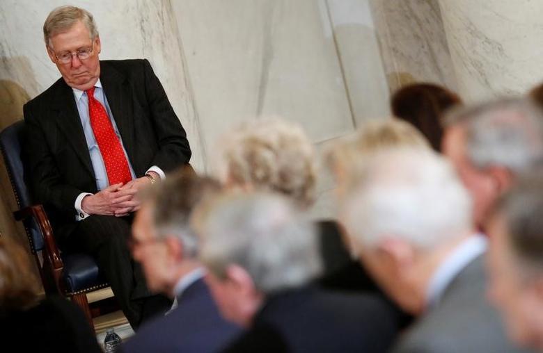 U.S. Senate Majority Leader Mitch McConnell (R-KY)  in Washington, U.S. December 8, 2016.  REUTERS/Jonathan Ernst
