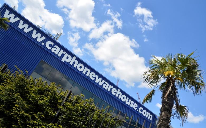 The headquarters of Carphone Warehouse is seen in west London May 15, 2014.  REUTERS/Toby Melville/File Photo