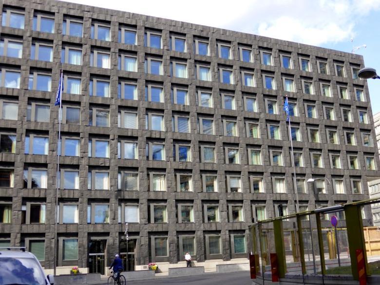 A general view of Sweden's central bank in Stockholm, Sweden, August 12, 2016. Picture taken August 12, 2016. REUTERS/Violette Goarant