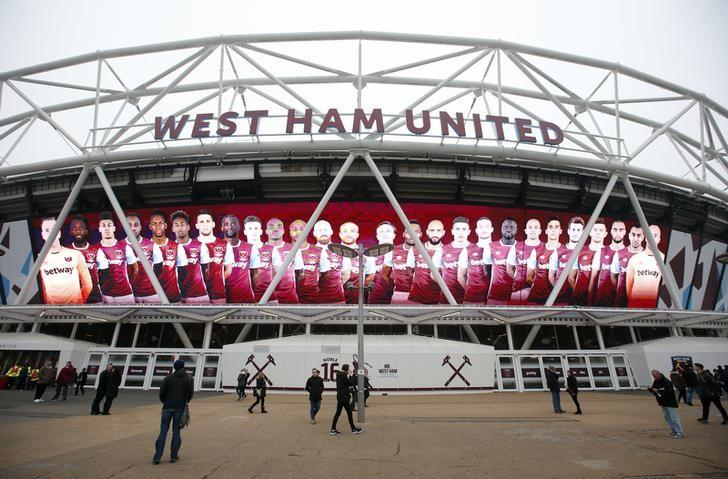 Britain Football Soccer - West Ham United v Hull City - Premier League - London Stadium - 17/12/16 General view outside the stadium before the match Action Images via Reuters / Matthew Childs Livepic