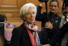 Diretora-gerente do Fundo Monetário Internacional, Christine Lagarde.    12/12/2016             REUTERS/Philippe Wojazer