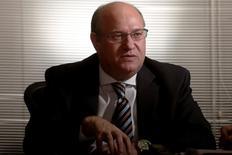 Presidente do Banco Central,  Ilan Goldfajn, em entrevista à Reuters em Brasília 15/09/2016 REUTERS/Adriano Machado