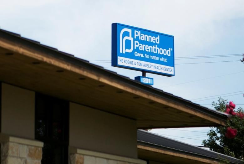FILE PHOTO: Planned Parenthood South Austin Health Center is seen in Austin, Texas, U.S. on June 27, 2016.  REUTERS/Ilana Panich-Linsman/File Photo