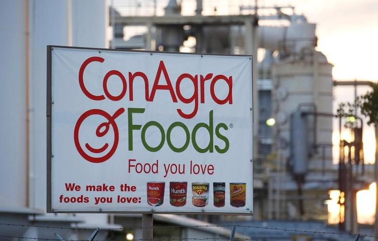 ConAgra Foods production facility is seen in Oakdale, California, December 18, 2015.  REUTERS/Fred Greaves/File Photo