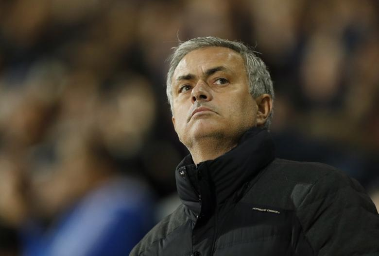 Britain Football Soccer - West Bromwich Albion v Manchester United - Premier League - The Hawthorns - 17/12/16 Manchester United manager Jose Mourinho before the match  Action Images via Reuters / John Sibley Livepic