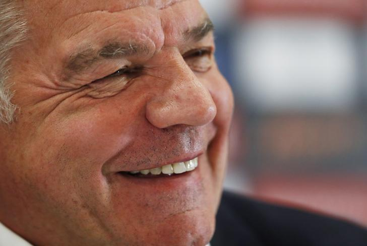 Britain Football Soccer - England - Sam Allardyce Press Conference - Hilton Hotel, St. George's Park, Burton upon Trent, Staffordshire - 25/7/16England manager Sam Allardyce during the press conferenceAction Images via Reuters / Andrew CouldridgeLivepic