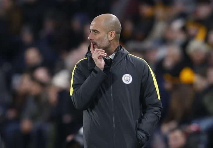 Britain Soccer Football - Hull City v Manchester City - Premier League - The Kingston Communications Stadium - 26/12/16 Manchester City manager Pep Guardiola  Action Images via Reuters / Ed Sykes Livepic