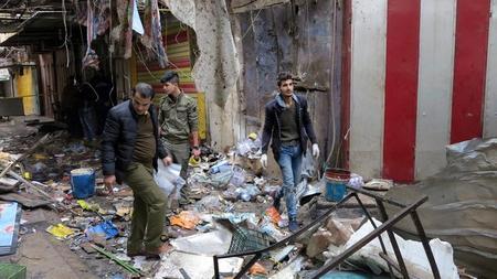 مقتل 25 في انفجارين ببغداد مع تصاعد القتال في الموصل
