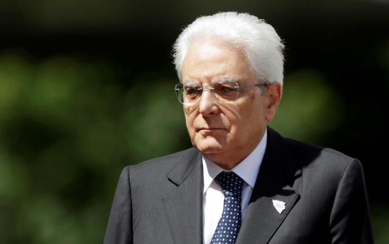 FILE PHOTO: Italian President Sergio Mattarella arrives for the Brdo-Brioni Process meeting, a gathering of political leaders from the Western Balkans, in Sarajevo, Bosnia and Herzegovina May 29, 2016. REUTERS/Dado Ruvic/File Photo