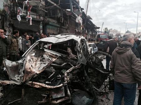 التلفزيون السوري: عشرة قتلى على الأقل في انفجار جبلة