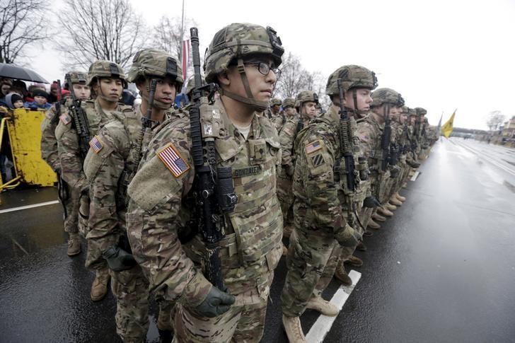 U.S. troops participate in Latvia