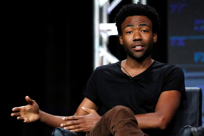 Creator and cast member Donald Glover speaks at a panel for the television series ''Atlanta'' during the TCA FX Summer Press Tour in Beverly Hills, California U.S., August 9, 2016.   REUTERS/Mario Anzuoni