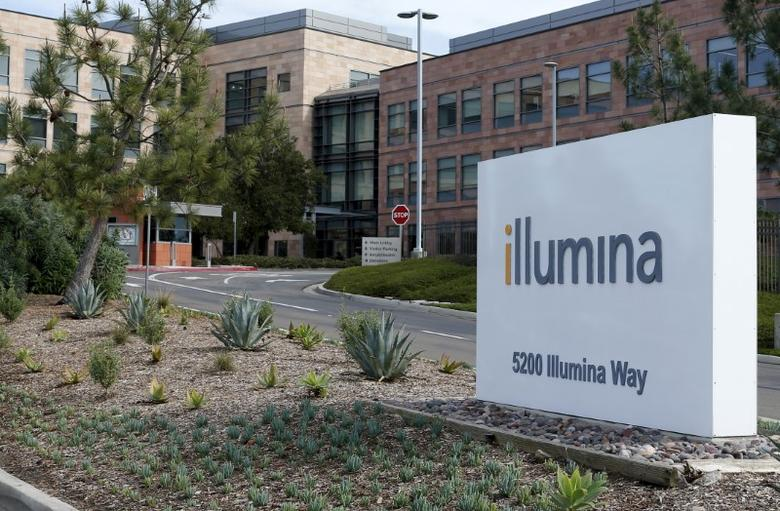The offices of gene sequencing company Illumina Inc are shown in San Diego,  California January 11, 2016. REUTERS/Mike Blake
