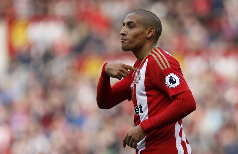 Britain Football Soccer - Sunderland v Arsenal - Premier League - The Stadium of Light - 29/10/16Sunderland's Wahbi Khazri after they had a goal disallowedReuters / Russell CheyneLivepic