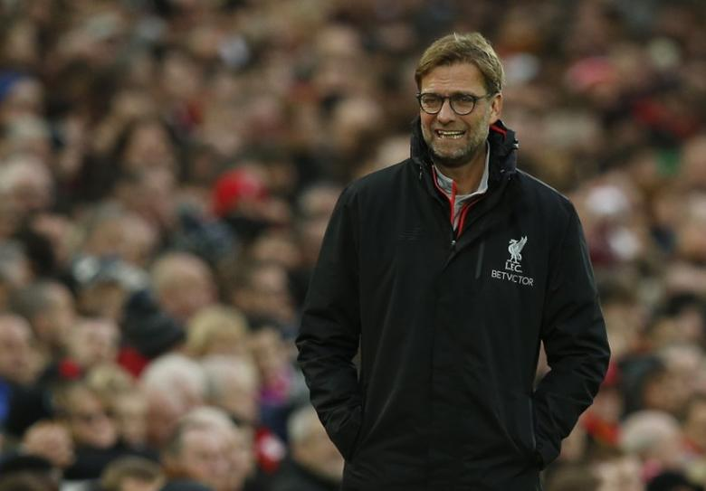 Britain Football Soccer - Liverpool v Plymouth Argyle - FA Cup Third Round - Anfield - 8/1/17 Liverpool manager Juergen Klopp  Reuters / Andrew Yates Livepic