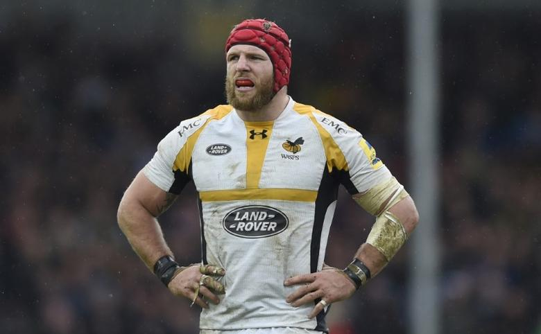 Britain Rugby Union - Exeter Chiefs v Wasps - Aviva Premiership Semi Final - Sandy Park - 21/5/16Wasps' James Haskell looks dejectedMandatory Credit: Action Images / Adam HoltLivepic