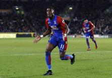 Crystal Palace's Wilfried Zaha celebrates scoring their second goal  Action Images via Reuters / Lee Smith Livepic