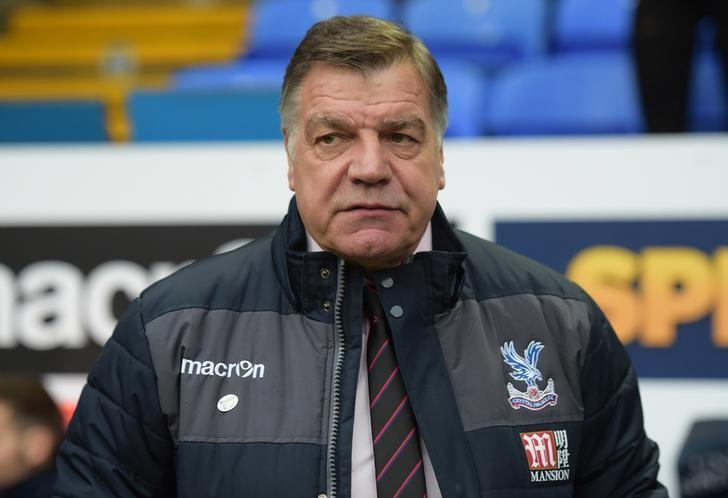 Crystal Palace manager Sam Allardyce  Action Images via Reuters / Paul Burrows