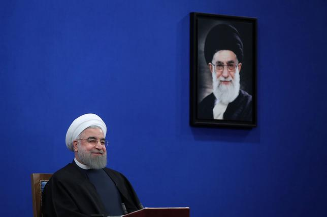 Iran's President Hassan Rouhani attends a news conference in Tehran, Iran January 17, 2017. President.ir/Handout via REUTERS