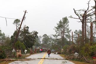 Tornados ravage Georgia